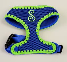 Dusty Initial Dog Harness