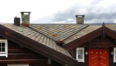 Privat Hytte, Norge - Ottaskifer fra Minera