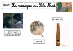LA MUSIQUE AU POLE NORD - La classe de Corinne