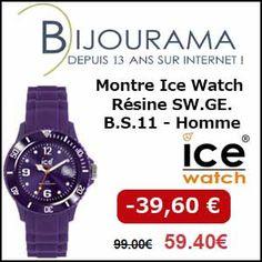 #missbonreduction; Réduction de 39,60 € sur la Montre Ice Watch Résine SW.GE.B.S.11 - Homme chez Bijourama.http://www.miss-bon-reduction.fr//details-bon-reduction-Bijourama-i851979-c1834687.html