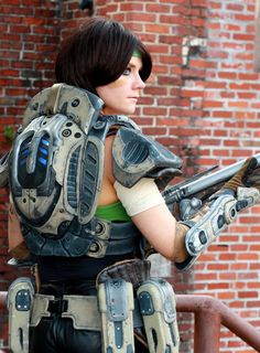 Sam - Gears of War cosplay by cimmerianwillow on deviantART