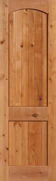 Knotty Alder Double Hip Raised Two Panel Arch Top Interior Door Styles, Knotty Alder, Wood Doors, Tall Cabinet Storage, Arch, Decor Ideas, Top, Home Decor, Wooden Doors