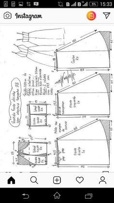 Dress Patterns, Sewing Patterns, Circle Skirt Pattern, E 38, Sewing Pants, Zoella, Dream Dress, Sewing Tutorials, Diy Clothes