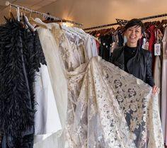 ERIN GREY COUTURE: CJ Bostrom designs bridal apparel.