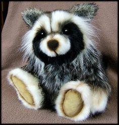 Stripe the Raccoon by Bears of Bath