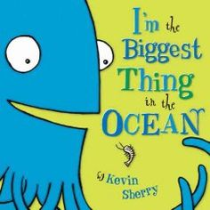 September 10, 2014. A giant squid brags about being bigger than everything else in the ocean--almost.