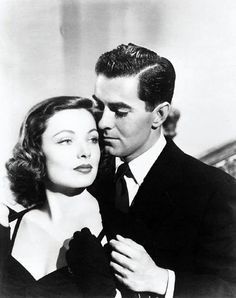 Gene Tierney & Tyrone Power in Razor's Edge (1946)