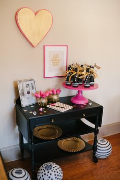 A Chic and Swanky Kate Spade Inspired Dinner Party..birthday party next year!