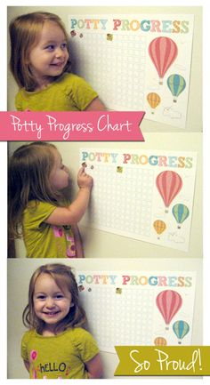 Potty Progress chart