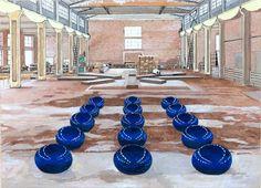 Ai Wei Wei's Studio in Beijing by Damian Elwes