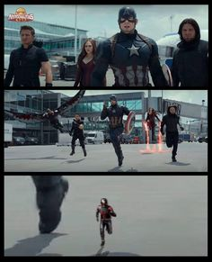 Captain America: Civil War! #Marvel! <3