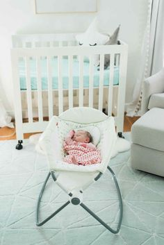 babyletto Origami Mini Crib - LayBabyLay