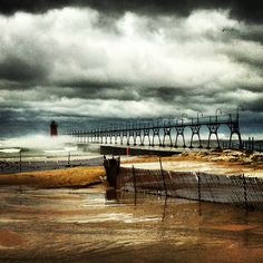 The Mayan End of Days on Lake Michigan in South Haven, MI.