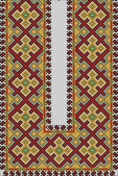 Gallery.ru / Фото #1 - Узоры (мужские) - WhiteAngel Cross Stitch Geometric, Cross Stitch Borders, Cross Stitch Designs, Cross Stitching, Diy Embroidery, Cross Stitch Embroidery, Embroidery Patterns, Loom Patterns, Beading Patterns