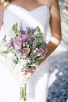 Rustic Fynbos Bouqute for Beach Wedding  - Lamberts Bay -  Jules Morgan Photography #SouthAfrica