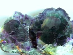 Fluorite This image is copyrighted. Unauthorized reproduction prohibited. Locality: Namibia Fluorite. Vasco Trancoso collection and photo. Cluster with: 11 X 7,5 X 5,5cm.
