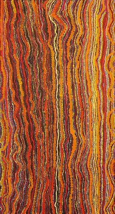 Ngurlu Jukurrpa (Native Seed Dreaming) by Sarah Napurrurla Leo