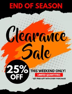 Clearance Sale Announcement Flyer Template Promotional Flyers
