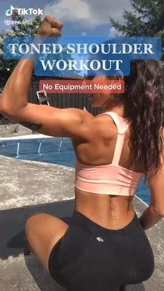Fitness Workouts, Gym Workout Videos, Fitness Workout For Women, Body Fitness, Easy Workouts, At Home Workouts, Fitness Tips, Health Fitness, Workout Routines
