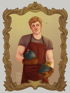Professor Longbottom <<< WAIT...hold the frick up, for a second I thought that was Peeta Mellark...caring bread...in plant pots....