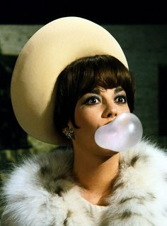 Natalie Wood (Blowing a Bubble)
