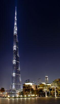 Burj Khalifa, Dubai, United Arab Emirates. I got to witness this beauty in person!! Stunning!