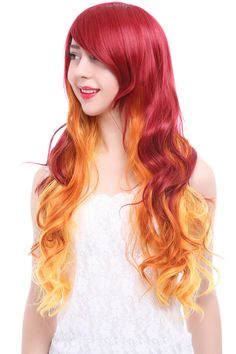 Silver Women Wig Fei-show Synthetic Heat Resistant 24long Wavy Hair Carnival Party Halloween Costume Cosplay Hairpiece Latest Fashion Synthetic Wigs