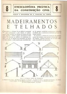 Fasciculo 08 madeiramentos e telhados
