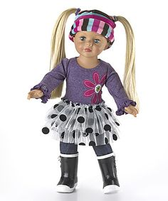 Look what I found on #zulily! Play Day Dressing 18'' Doll #zulilyfinds