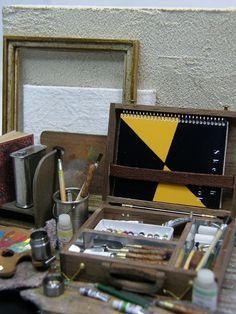 Artists Materials, Hinazo Miniature