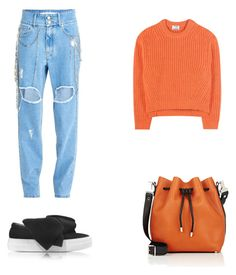 """""""Senza titolo #119"""" by anna-1999 ❤ liked on Polyvore featuring Filles à papa, Acne Studios, Joshua's and Proenza Schouler"""