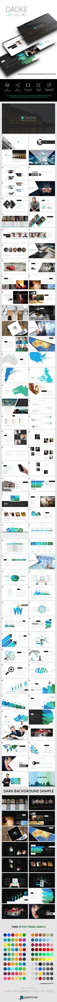 Daoke Business Powerpoint — Powerpoint PPT #winning #maps • Download ➝ https://graphicriver.net/item/daoke-business-powerpoint/19165918?ref=pxcr