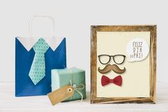 Feliz dia do Pai! Place Cards, Place Card Holders, Happy Fathers Day, Madeira, Colors