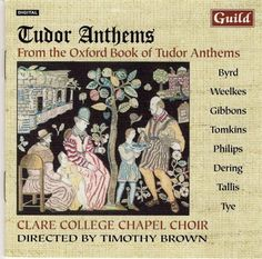 Mudd/Parsons/Byrd - Tudor Anthems From The Oxford Book Of Tudar Anthem