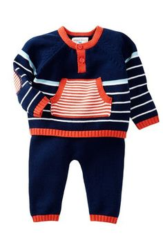 Oliver Sweater Set (Baby) by Angel Dear on @HauteLook