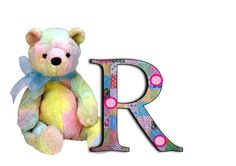 alphabet, teddy alphabet, a-z, patchwork letters, free alphabet Cute Alphabet, Alphabet And Numbers, Create Words, Smurfs, Initials, Card Making, Teddy Bear, Kitty, Scrapbook