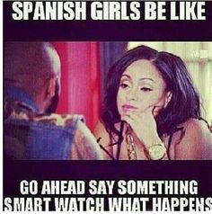 I Love These Two Together Tahiry And Joe Budden Latinas Be Like Mexican Humor Mexican Funny Memes