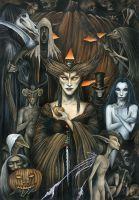 Samhain ~ Trick or Treat by Marc Potts aka Markelli on DeviantArt