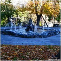 Otoño en el parque San Francisco en Oviedo, Asturias - España. Más detalles en landoigelo.com