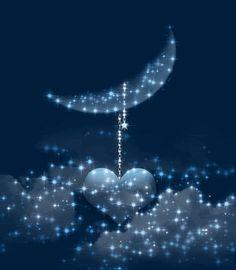 The perfect Animation Chand Animated GIF for your conversation. Sun Moon Stars, Good Night Sweet Dreams, Beautiful Moon, Good Morning Good Night, Love Spells, Magic Spells, Moon Art, Night Skies, Animated Gif