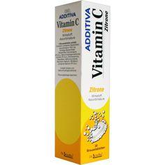 ADDITIVA Vitamin C 1 g Brausetabletten:   Packungsinhalt: 20 St Brausetabletten PZN: 03249786 Hersteller: Dr.B.Scheffler Nachf. GmbH &…