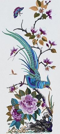 Kwang Tung Embroidery Kit PE701
