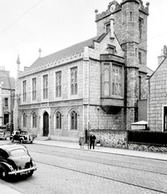 The Christ College was originally built as the Free Church College to train ministers for the Free Church. The building was formally opened on 5 November 1850. Linked to the college was a museum and library (containing 17,000 volumes), both originally located in 2 Alford Place. Source: HES/CANMORE Church Of Scotland, Aberdeen Scotland, Christ College, The 5th Of November, West End, Museum, Train, Building, Places
