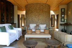 The Spa Lounge in the Thanda Private Game Reserve, KwaZulu-Natal