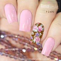 Pink Nail Art, Cute Acrylic Nails, Cute Nails, Latest Nail Designs, Nail Art Designs, Vacation Nails, Nail Jewelry, Stylish Nails, Flower Nails