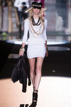 Milan Fashion Week, Dsquared2 SS 2013, Melissa Tammerijn