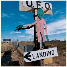 Roswell, New Mexico. Seriously you've never seen this many aliens/U.F.O.s in your life. It's going to be great.
