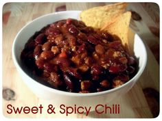 Sweet & Spicy Chili recipe from my blog: A Creative Chelle