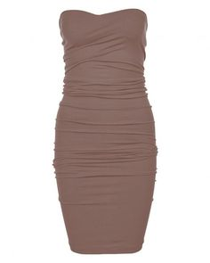 Wolford Fatal Seamless Tube Dress in Brown | Lyst