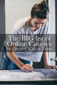 Junior high and high school classes. The BIG list of online courses for creative kids and teens is an excellent resources for parents! Online Math Courses, Learn Math Online, Art Courses, College Courses, College Tips, High School Courses, Music Courses, Homeschool High School, Homeschool Curriculum
